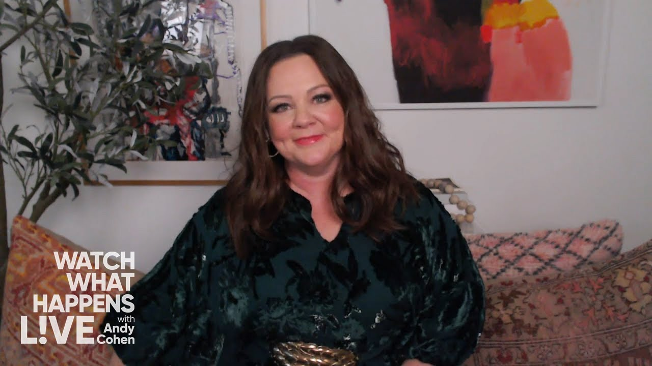 Melissa McCarthy Gets Serious with Andy Cohen