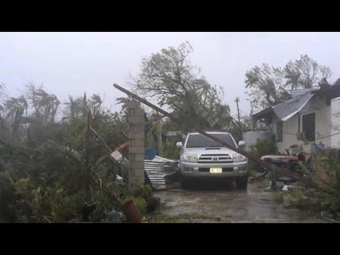 Typhoon Yutu slams Northern Mariana Islands