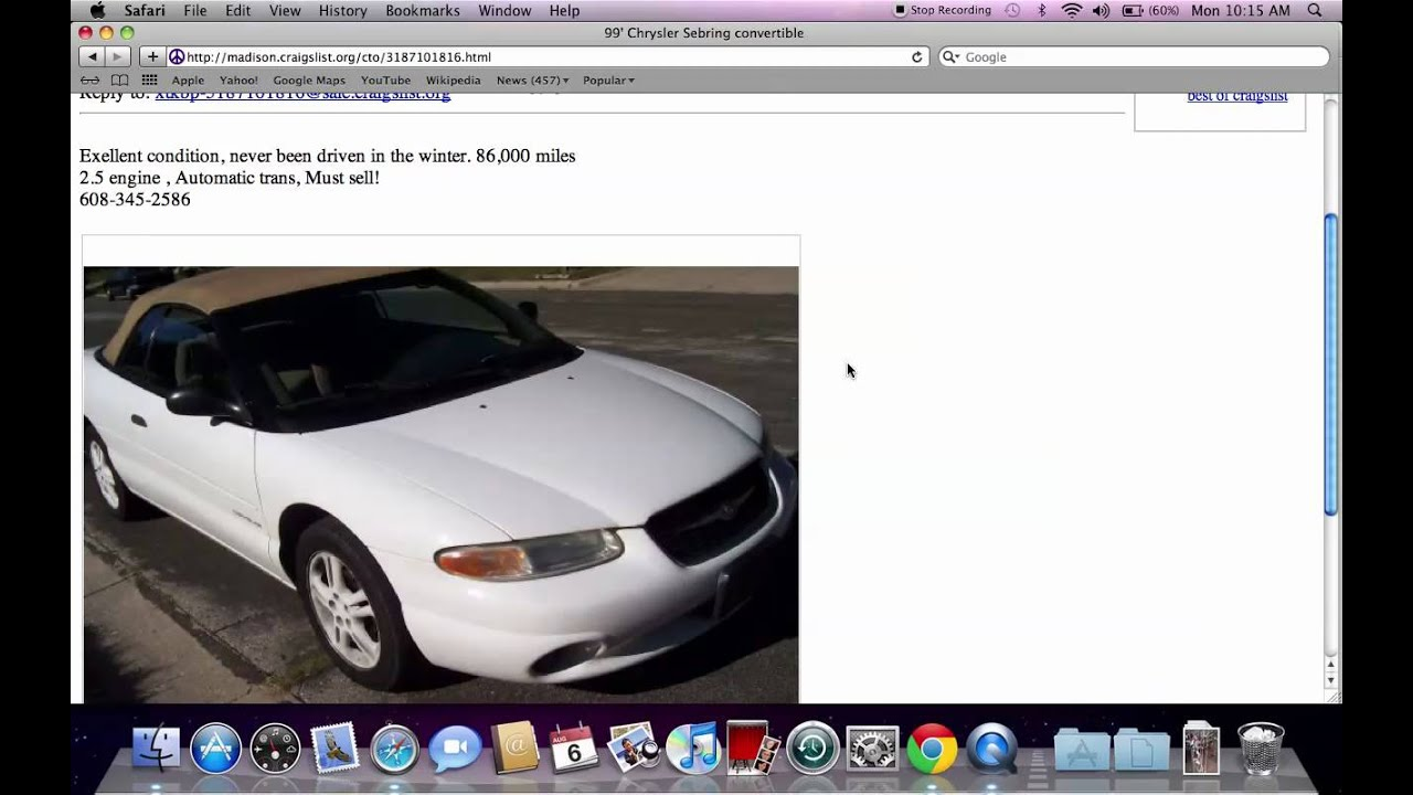 Craigslist Madison Cars By Owner >> Craigslist Madison Wisconsin Used Cars Trucks And Vans Fsbo