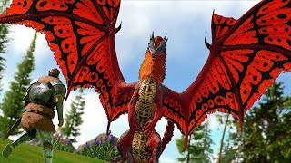 Taming the STRONGEST oḟ the Monarch Dragons!!   Ark Modded Nightmare! [Ep34]