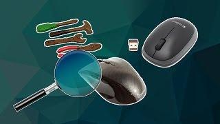 Logitech M165 - детальный разбор и тест мышки