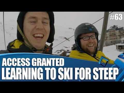 Access Granted - Learning To Ski For Steep!