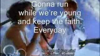 high school musical everyday troy gabriella (karaoke)version