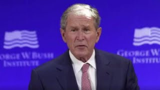 George W. Bush says Russia meddled in 2016 election