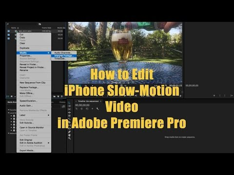How to Edit iPhone Slow Motion Video in Adobe Premiere
