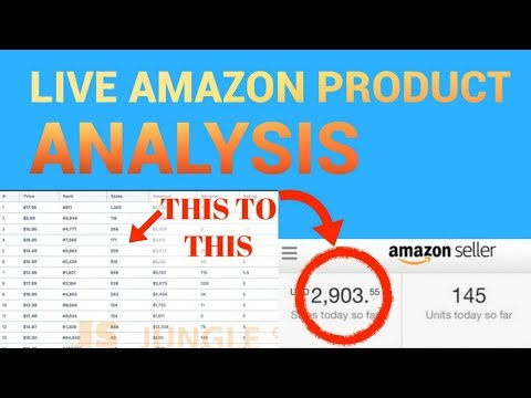 Exactly How I FIND AND ANALYZE Amazon Products