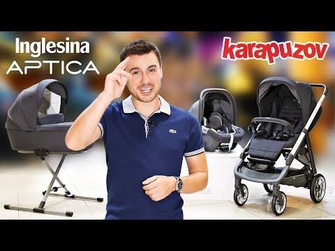 Inglesina APTICA - итальянская премиум детская коляска 4 в 1 |  Видео обзор Инглесина Аптика