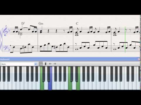 Partitura piano hasta que te conoci mana demo youtube for Pianificatore di piano