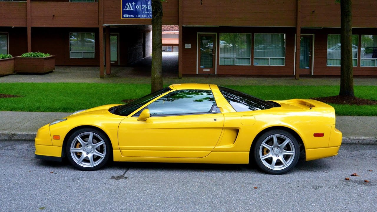 Acura NSX In Yellow RARE YouTube - 2005 acura nsx for sale