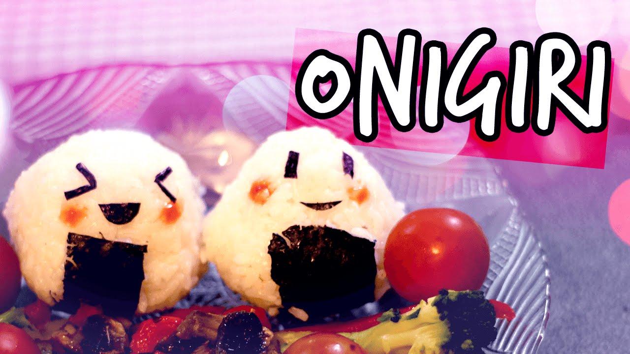 C mo hacer onigiri de manera f cil comida japonesa youtube for Comidas faciles de preparar