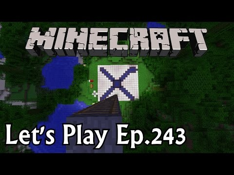 Minecraft Let's Play Ep. 243- Reusable Rocket!