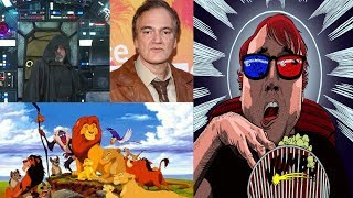 Movie Crap || Lion King Remake Cast, Last Jedi Trailers, Tarantino Switching Studios
