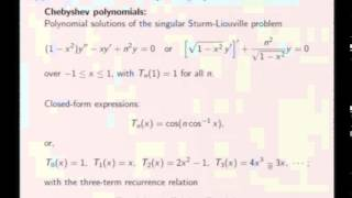 Mod-07 Lec-34 Fourier Integral to Fourier Transform, Minimax Approximation