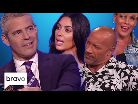 Andy Cohen's Toughest Questions On Watch What Happens Live | Bravo