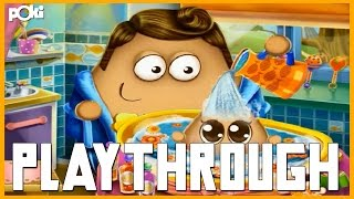 Wash the Baby! Pou Baby Wash Playthrough