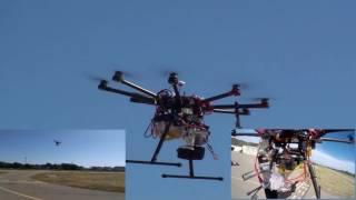 Flight Testing 1.5 kW hybrid electric UAV propulsion system on DJI s1000 drone