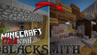 minecraft forge build blacksmith medieval village