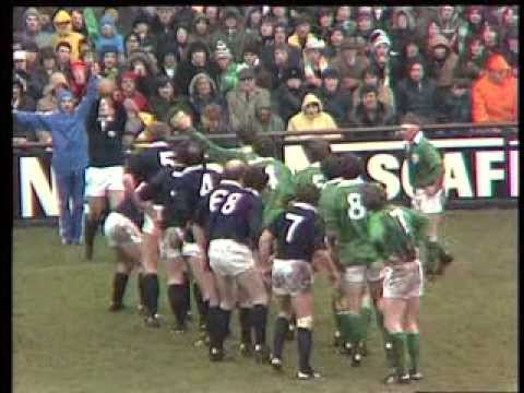Scottish Rugby's rock and roll years: The 1980's part one.