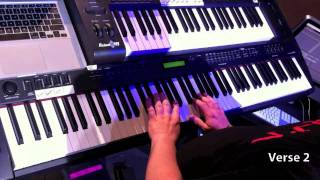 Bethel Live - God I Look to You (Keyboard Tutorial)