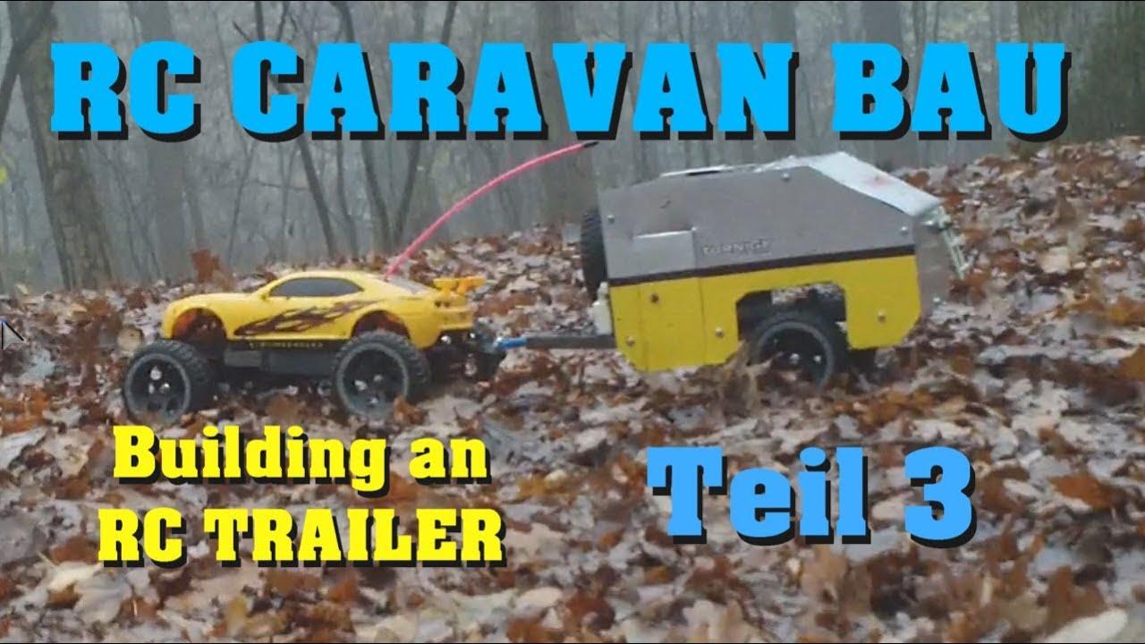 RC Scale Caravan bauen / TEIL PART 3/4 : Body - Karo - Darconizer RC ...