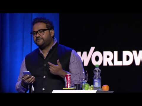 Ambarish Mitra: The Transformative Power of AR / Blippar live at WORLDWEBFORUM