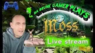 Moss PSVR Gameplay- Quill is sooooo cute!!