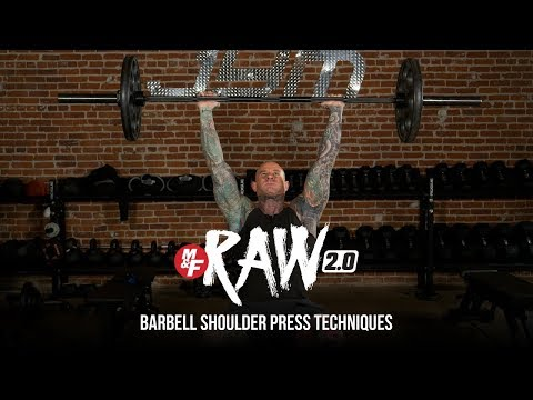 Barbell Shoulder Press Techniques | Dr. Jim Stoppani