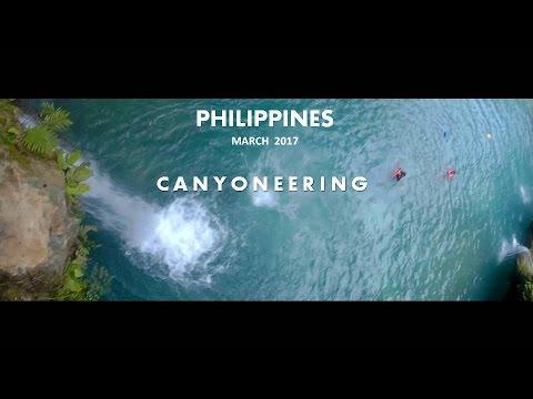 Backpacking Philippines - Part 2  Canyoneering at Kawasan, Cebu