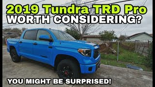 2019 Tundra TRD Pro Full Review!
