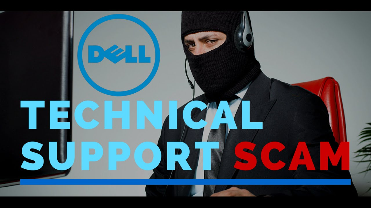 BEWARE! Dell Technical Support Phone Scam can cost you! - YouTube