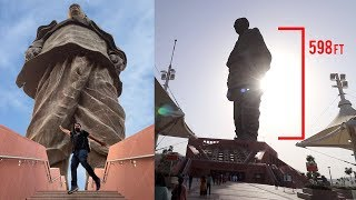 WORLD'S TALLEST STATUE - STATUE OF UNITY !