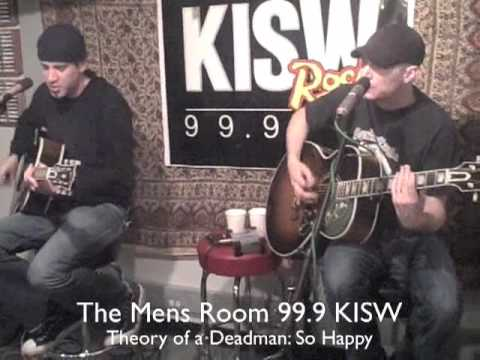Theory of a Deadman: So Happy on The Mens Room 99.9 KISW mp3