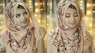 Easy everyday hijab style by Afsana Rakhi || Ft. Styline Collection