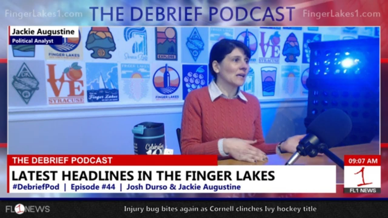 Discussing the Mentz lagoon, future of landfills, and local election results .::. The Debrief Podcast 3/20/19