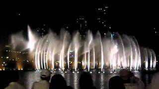Dubai Fountain - The Prayer - Celine Dion & Andrea Bocelli