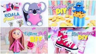 7 Best Diys! Room Organize   Back To School & Bff Gifts Homemade