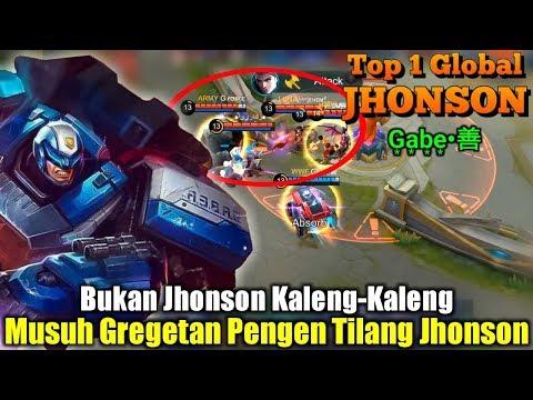 Auto Tabr4k Auto M0dar | Jhonson Sekarang Rasa Assassin - Top 1 Global Jhonson G͙a͙b͙e͙•善