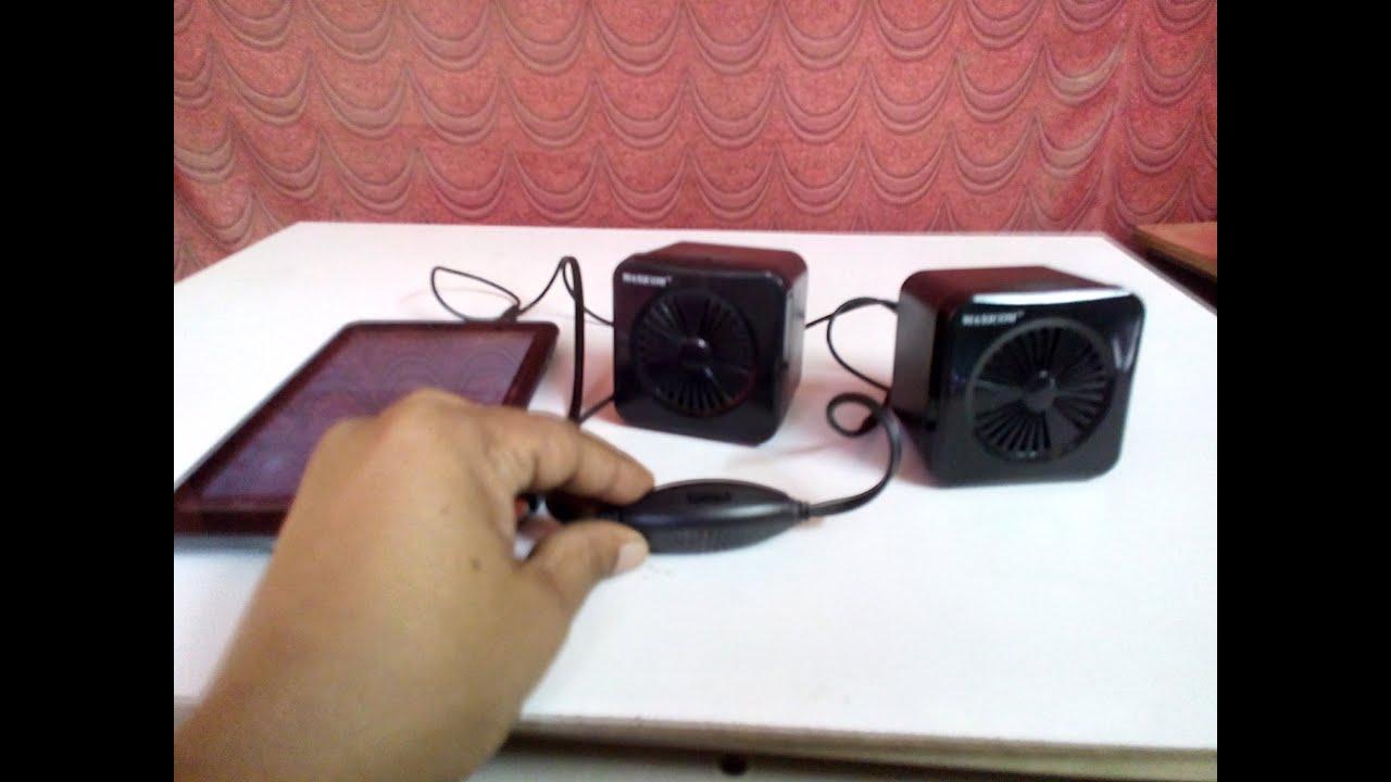 Budget Mini Speaker For Laptop Desktop Maxicom Speakers Youtube Wiring Computer