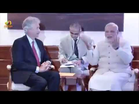 US Deputy Secretary of State William Burns visits PM Narendra Modi