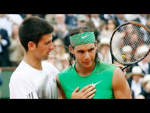Rafael Nadal vs Novak Djokovic 2008 RG Highlights