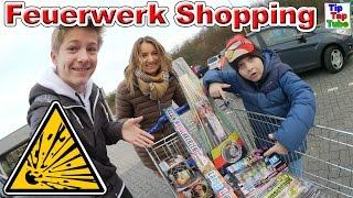 Silvester Feuerwerk Einkaufstour 2016/17 Teil 1 Aldi | Kleine Pyrologen | Knaller Shoppen Vlog