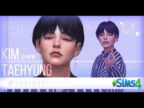 The Sims 4 - Kim Taehyung [OLD VER.]