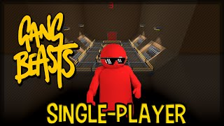 Gang Beasts:Destruindo os bots Single-Player