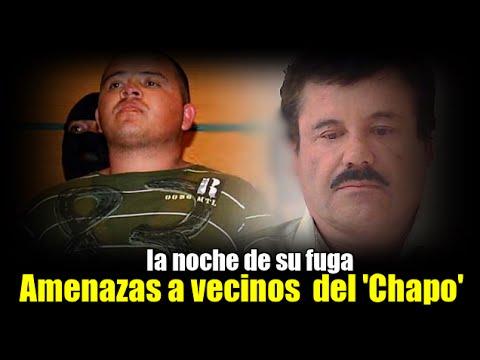 Vecinos de celda de El Chapo amenazados la noche de su fuga