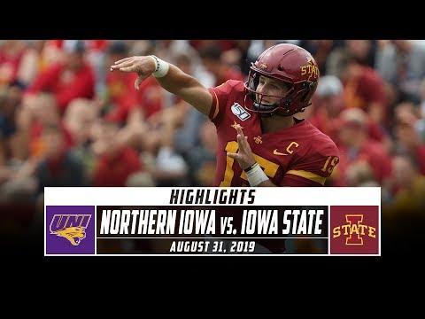 Northern Iowa Vs. No. 21 Iowa State Football Highlights (2019) | Stadium