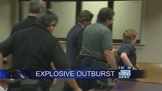 Wash. boy, 11, has explosive outburst in court