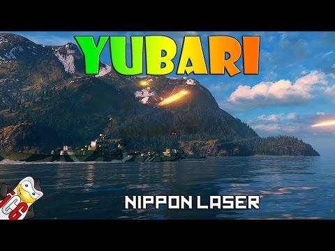 World of Warships - Yubari - Nippon Laser
