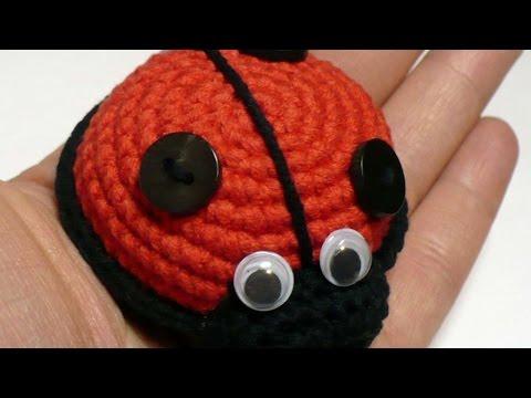 Amigurumi Ladybug Crochet Tutorial   Everything Ladybug   360x480