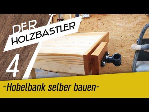 Die Hobelbank #4 - Das Untergestell ist fertig!