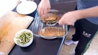 Карась в сметане. Рыба в сметане. Fish in sour cream.